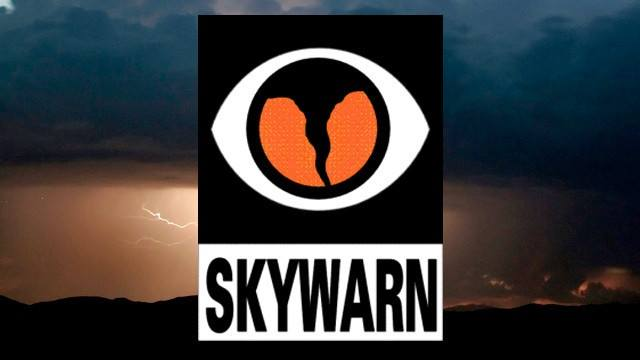 JCHSEM Announces SKYWARN Storm Spotter Course