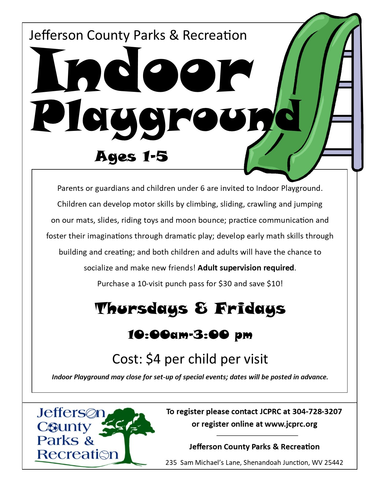 Indoor Playground Fall 2019